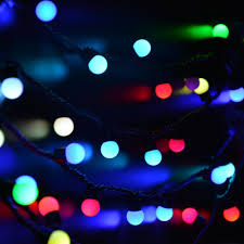 Colored String Lights Pin On Garden Trees Lights String