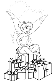 Tinkerbell Christmas Coloring Pages – Happy Holidays!
