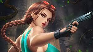 Lara Croft Tomb Raider Game Girl 4K ...