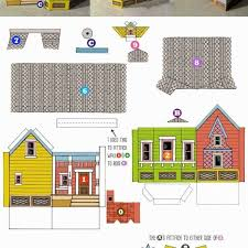 Printable Paper House Craft Templates Printable 3d Paper Crafts In