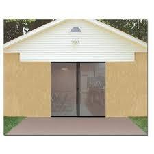 single garage doorJobars 824868 Single Garage Screen Door  eBay