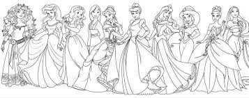 Small Picture All Disney Princess Coloring Pages Pretty Coloring All Disney
