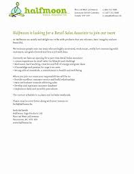 Part Time Sales Associate Cover Letter Resume Simple Templates