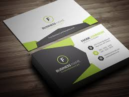 Geometric Style Corporate Business Card Template Free Download