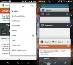 Android Tabs How To Close Open Tabs In Google Chrome For Android 5 0 And Higher