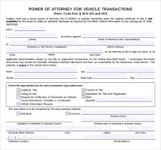 blank power of attorney sample blank power of attorney form 10 download free documents in
