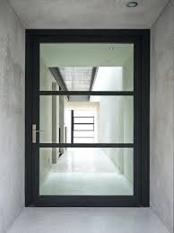 wood and glass front door charming modern glass front doors and front doors wood glass modern