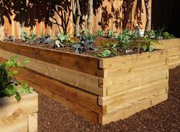 garden bed kit. Above: The 3-by-8-foot Cedarbrook Cedar Raised Garden Bed Kit Includes Interlocking Red Boards With Pre-drilled Holes To Accommodate Easy-to-insert E