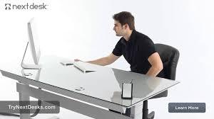 nextdesk adjule height desk