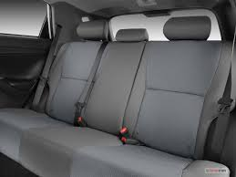 2009 toyota matrix rear seat