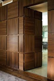 office doors designs. Exciting Home Office Design With Elegant Trustile Doors And Wood Desk Plus Mid Century Chair Designs S