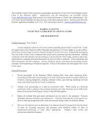 Cover Letter Sample Office Clerk Tomyumtumweb Com