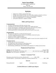 Resume Examples For High School Students Enchanting Resume Examples For Highschool Students Canada Best Professional