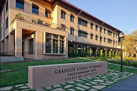 stanford graduate school of business. the stanford graduate school of business is building a new four-story structure that will allow to offer nearly all first-year mba students on