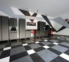 black floor paint50 Garage Paint Ideas For Men  Masculine Wall Colors And Themes