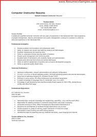 Readymade Resume Best Resume Format Of A Teacher Create