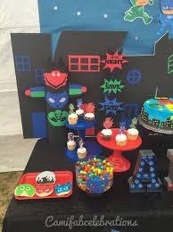 Pj Mask Party Decoration Ideas Pj masks birthday party decor ideas Ideas para el hogar 14