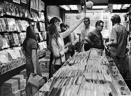 Record Store, Photo by Duane Howell (The Denver Post), 1968.   Record  store, Vinyl records, Record shop