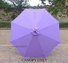 umbrella replacement canopy patio garden market umbrella replacement canopy cover 8 ribs lavender umbrella replacement canopy