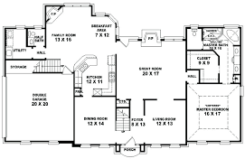 5 Bedroom And 4 Bathroom House 4 Bed 3 Bath House Floor Plans Of The  Picture .