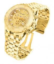 invicta men s 6901 subaqua quartz chronograph gold dial watch invicta men s 6901 subaqua quartz chronograph gold dial watch available through our brand watches