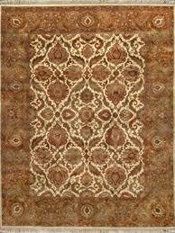 rugsville agra gold beige wool rug 10476 9x12