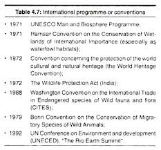 essay on ecosystem environment international programme or conventions