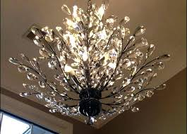 tree branch chandelier architecture light fixture transformed got a throughout shadow
