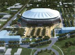 Mississippi veterans memorial stadium has been the home stadium of the jackson state tigers football team since 1970. Jackson State Unveils New Domed The Game Changer 200 Million 50 000 Seats Dance Aux Forum Bandhead Org