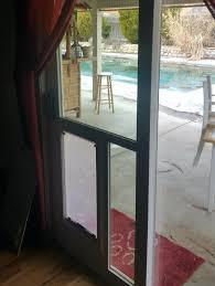 pet door for glass slider pet door large hale installed in glass pet door sliding glass