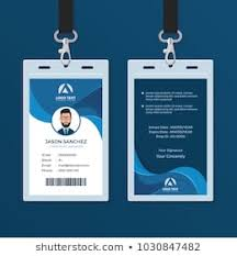 Personal Id Card Images Stock Photos Vectors Shutterstock