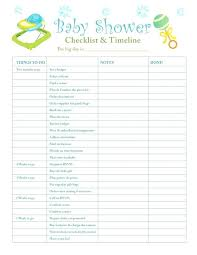 Baby Shower List Of Gifts Template Dietetica Info