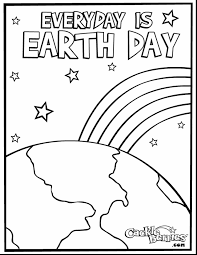 Small Picture Of The Nature Earth Day Coloring Page For Kids Pages Pdf Earth