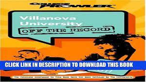 New Book Villanova University: Off the Record (College Prowler) (College  Prowler: Villanova - video Dailymotion