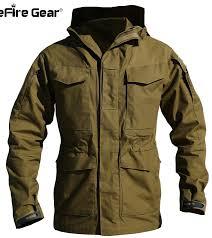 m65 uk us army clothes casual tactical windbreaker men winter autumn waterproof flight pilot coat hoo