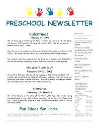 February Newsletter Template December Newsletter Template