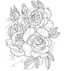 Kleurplaat Rozen Tattoo Kleurplaten Modern Tattoos Coloring