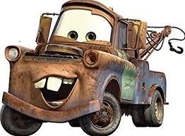 Amazon.com: 11 Inch TOW Mater Truck Disney Pixar Cars 2 Movie ...