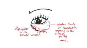 hide under eye bags 30 i wish i knew before makeup tips09