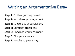 how to construct an argumentative essay how to construct an essay argument 6 steps pictures