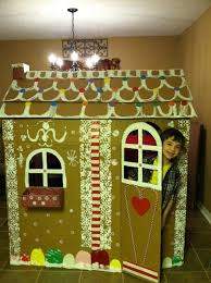 Premade Gingerbread Houses Life Sized Gingerbread House Diy My Favorite Gingerbread Boy