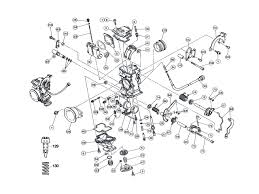 Keihin fcr 28 33 35 37 39 41 flatslide single carburetor parts diagram frank mxparts for