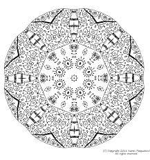 Mandala A Colorier Zen Relax Gratuit 11 Mandalas Zen Anti