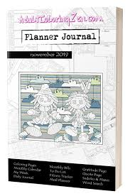 Daily Journal Planner Join Planner Journal Adult Coloring Zen Adult Coloring