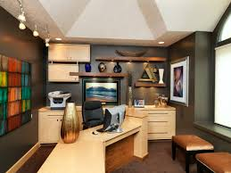 unique office designs. Cool Modular Furniture For Modern Home Design: With Black Walls And Floating Unique Office Designs