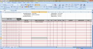 Bill Of Materials Bom Spreadsheet Civil Engineers Pk