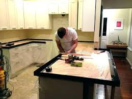 diy concrete countertops poured in place how to pour a concrete in place together with pour in place concrete forms poured