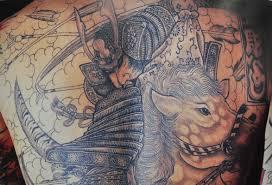 японская татуировка путь воина бусидо самурайская этика