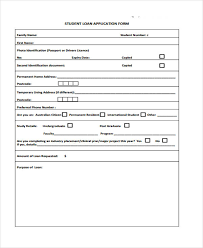 student application template 41 student application form templates