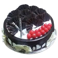 Birthday Black Forest Cake Buy Online At Best Price On Gift Decor Shop
